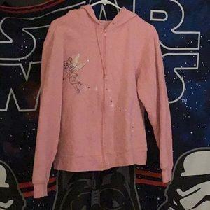 Tinker bell hoodie jacket